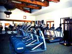 Fully equipped fitness center, if you must!