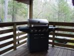 Large Gas Grill at Wolf Creek Cabin
