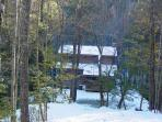 Wolf Creek Cabin - December Snow 2010