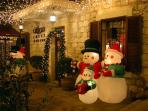 Christmas celebrations at Ben Gurion Avenue