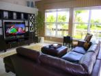 Family Room with Large Flat Screen TV & Bose Surround Sound