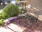 Enjoy the sun on the front patio