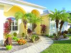 The Inviting & Lushly Landscaped Front of the Home