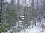 Bear Creek Cabin - January 2011 Snow