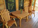 Nice outdoor furniture to enjoy