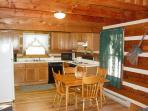 View of Dining Room / Kitchen