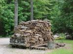 Complimentary Firewood (Uncovered or picture purposes) - Mountain Laurel Cabin