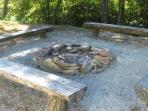www.blueridgeparkwaycabinrentals.com Fire Pit