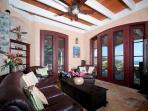 Living Room with doors to veranda.