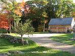 The Carriage House/Garage in Autumn