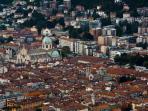 Como - the medieval centre and the Duomo