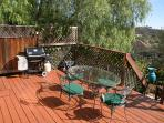 Barbque deck area