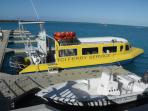 TCI ferry to outer islands
