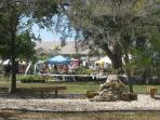 Cape Coral has festivals and parties in the parks each week. Plenty of things to do here.