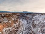 Rio Grande Gorge from Gorge bridge- courtesy of Julia Timmer photography