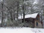 Pine Crest Cabin - January 2011 Snow