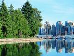 Stanley Park, Vancouver – 43km/40 min -one of the largest city parks in the world