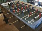 Yeah, there's even foosball.