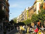 Lively San Jacinto street