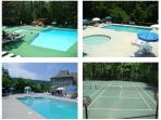 Duirng the Summer our guests have free access to 3 community pools, fitness romm and tennis courts