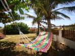 Seascape Beachhouse Barbados hammock in the garden