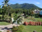 View of Mount Nevis from the front porch
