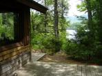 South-facing deck looking at Mt. Ossipee