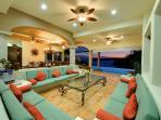 Villa - Living Area & View