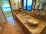 Villa - Bathroom Ocean View