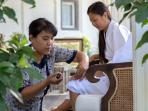 Puri Dana manicures on the veranda are a guest favorite!