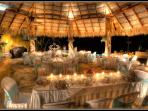 Wedding Reception in the Main Palapa