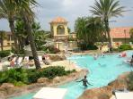 Waterslide & Shallow kids pool