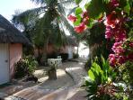 Cabana and  Garden