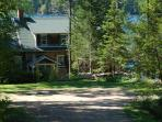 View of Kill Kare on the shores of Walker Pond - from the driveway.