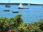 The Eggemogging Reach and Penobscot Bay are ideal for sailing.
