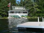 Kill Kare with the dock and swim float.  The lake is much more comfortable than the cold ocean water