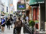 Award winning Restaurant Row makes the block full of life!