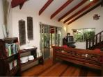 Open Space Living Room furnished in Daintree Mahogany Timbers