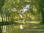 The Canal du Midi,  a world heritage site