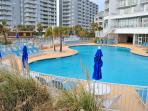 Many Pools, Including The Largest Outdoor Pool In Myrtle Beach