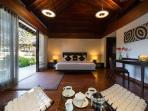 Master Suite at Bunga Pangi