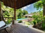 View from Guest Verandah - Bunga Pangi