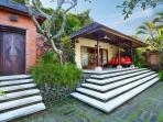 Entrance to Villa Bunga Wangi and Frangipani Suite