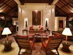 Villa Bunga Wangi Lounge at Night