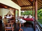 Villa Bunga Wangi Lotus Suite Balcony