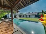 Villa Kavya from Pool Bale