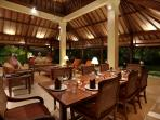 Vila Bunga Wangi Evening Dining Table