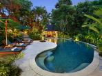 Villa Bunga Wangi Pool at Dusk