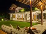 Villa Kavya from Bale at Night