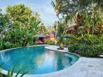 Villa Bunga Wangi Pool in the Morning